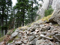 Sentier Fumicosa/Samulaghja : en longeant les parois vers Bocca di Fumicosa