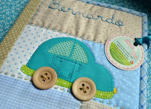 Porta carteirinha de vacinas Bernardo - Bambino by Maria Sica