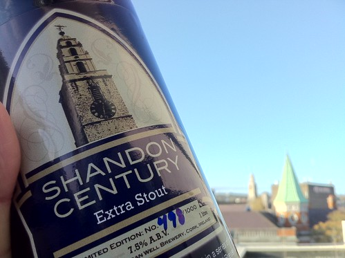 Shandon Century Stout, Bottle 498 of 1000