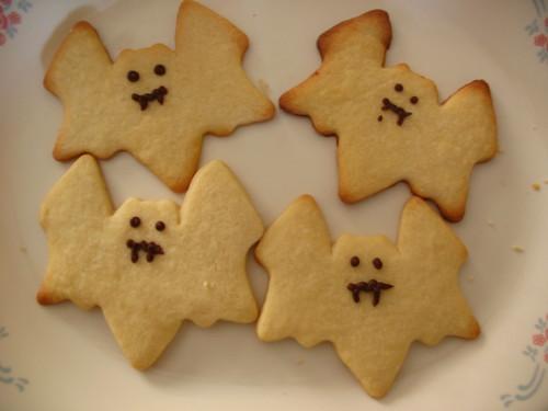 Sugar cookie bats