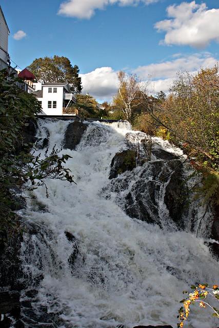 Megunticook River Falls - Camden, Maine