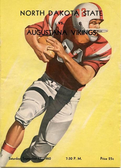 Football vs. Augustana – 1960