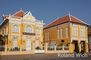 Battambang - Colonial Buildings