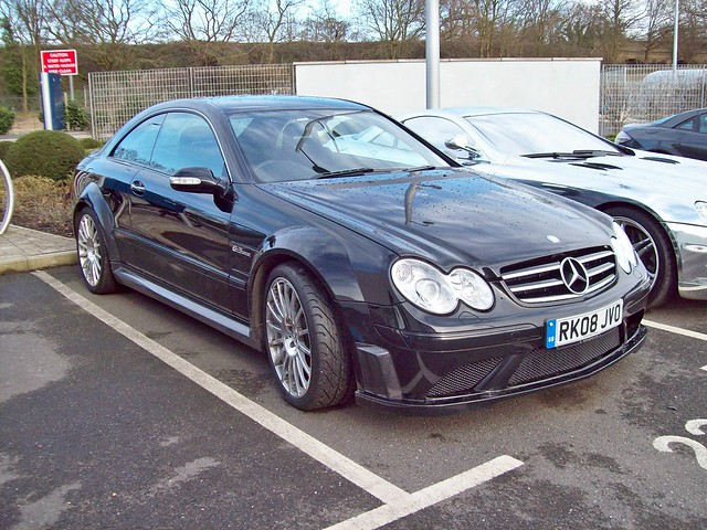 161 Mercedes CLK 63 AMG Black