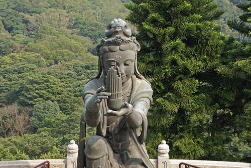 Hong Kong Po Lin Monastery statue