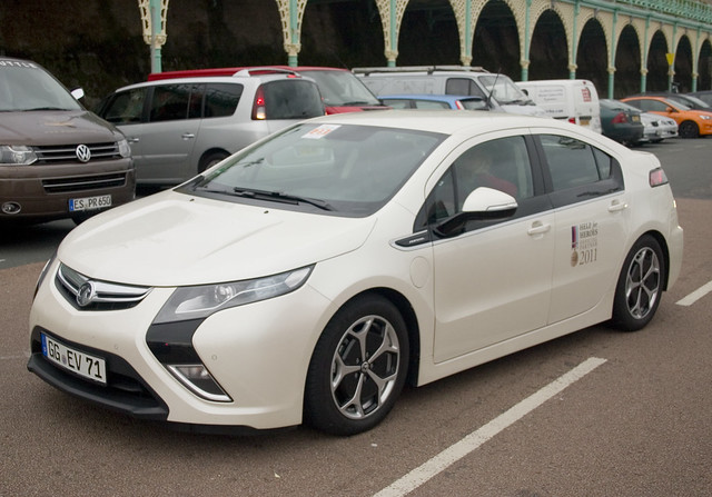 Vauxhall Ampera: RAC Future Car Challenge