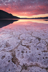 Morning Yearning - Badwater, Death Valley, California
