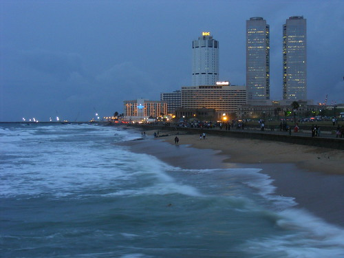 Colombo Beach and CBD