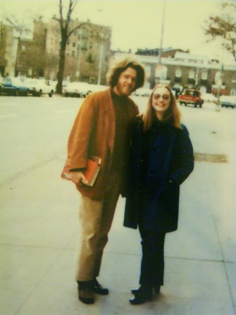 Bill and Hillary in College