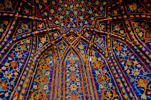 Islamic Tile Work : Cc a z g