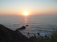 Sunset from the Fort of Arrifana (Miradouro da Antiga Fortaleza da Arrifana)