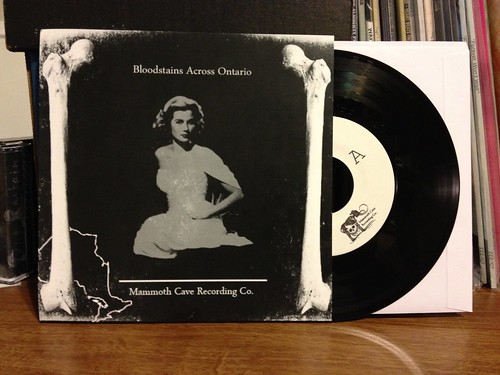"V/A - Bloodstains Across Ontario 7"" Compilation - European Version /100"