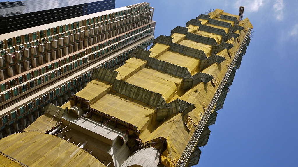 Yellow Skyscraper
