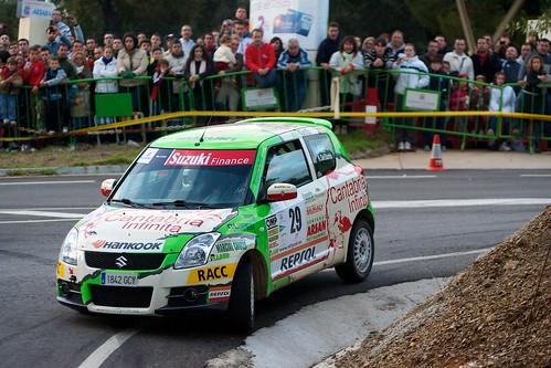 Victor Pérez Rallye Sierra Morena 2011