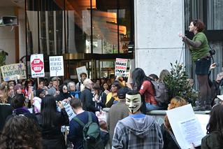 #OccupySF #OccupyCal #Occupy BofA 11/16/11