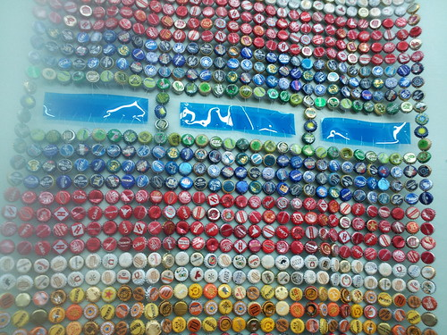 Bottle Cap Art By Emma Cotter