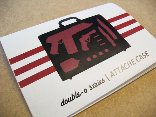 Double-o Series Attache Case manual