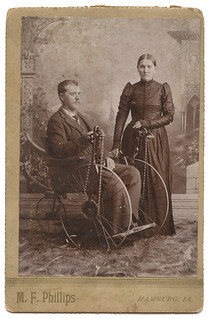 Disabled Civil War Veteran Elijah N. Parkhurst & Wife Elizabeth Grant Rairdon Parkhurst