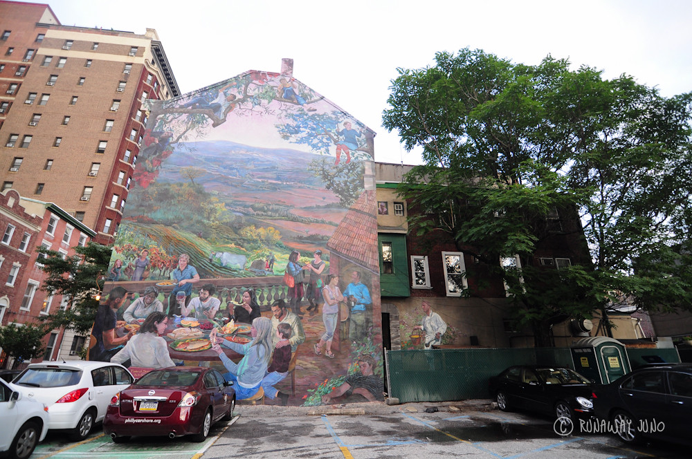 Summer: Ale & Art Mural Tour in Philadelphia, Pennsylvania