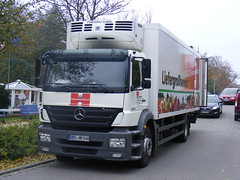 Wustrow delivery Mercedes Axor, Handelshof Cash & Carry Großhandel