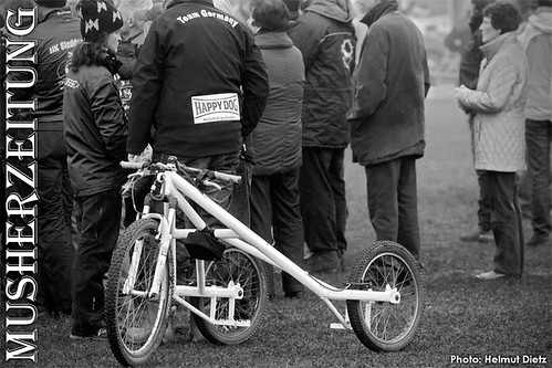 IFSS WC 2011, Germany: Barbara's white trike?!