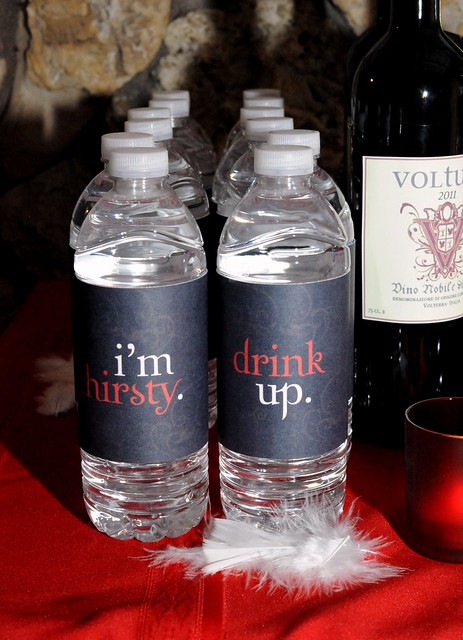 Breaking Dawn-Twilight-Water Bottle Labels