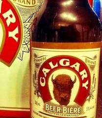Calgary brand beer