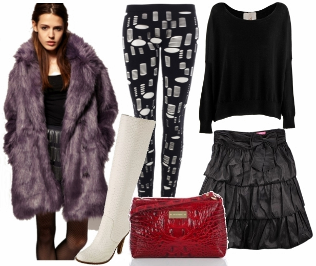 Dress Up for Cold days Look 3