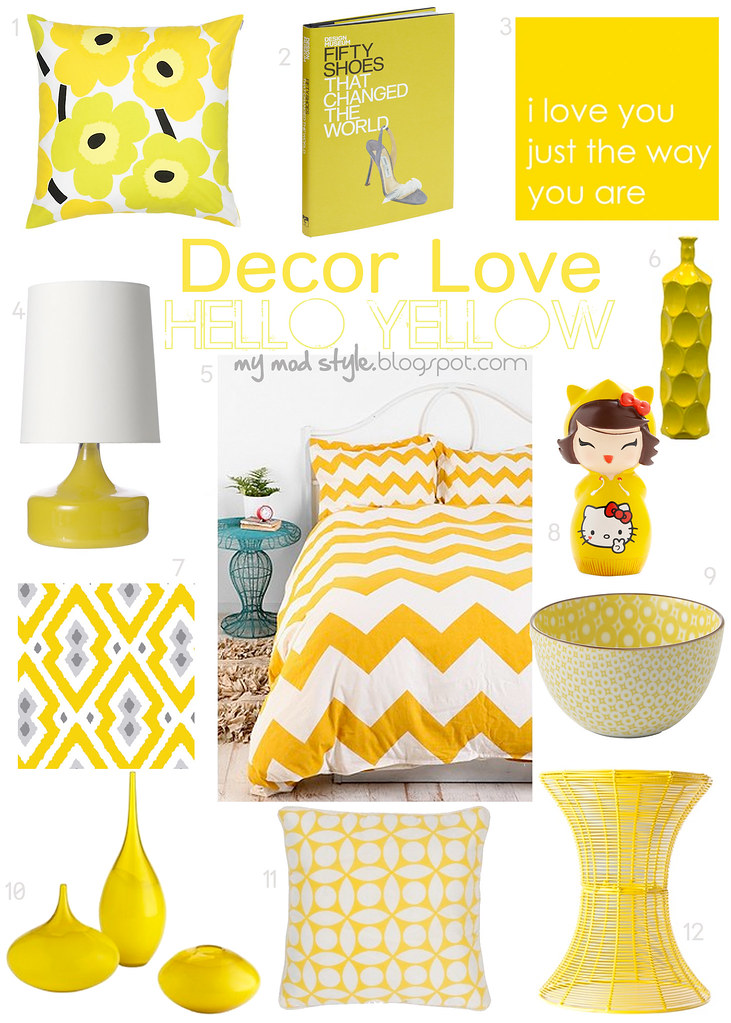 Decor Love Hello Yellow - Dec 2011