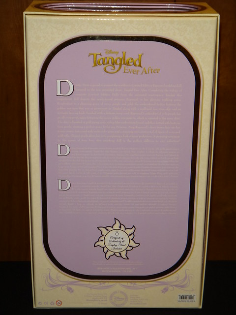 The Disney Store 39s Limited Edition 17 39 39 Tangled Ever After Rapunzel Wedding