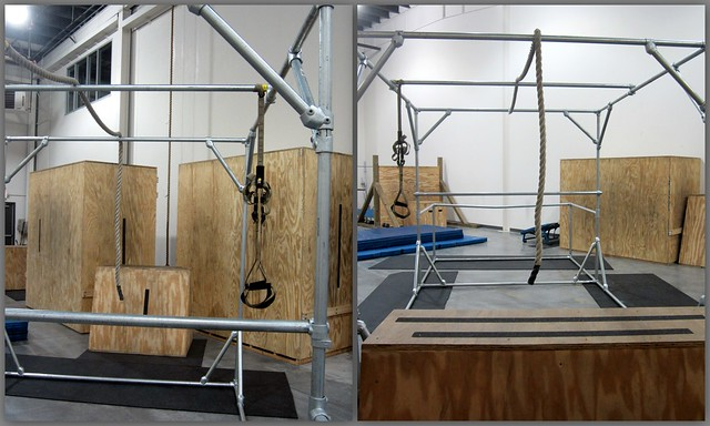 Base Fitness Parkour Structure