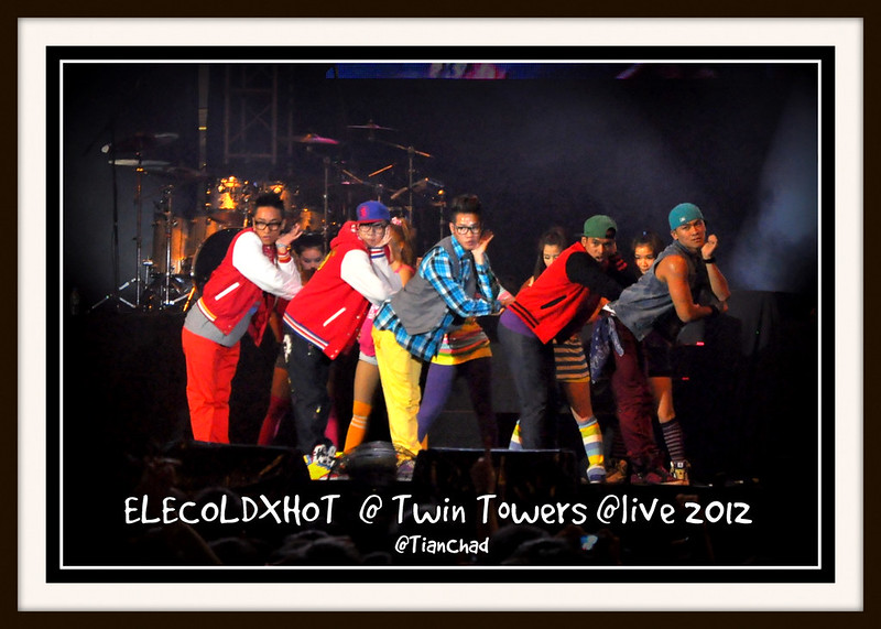 Elecoldxhot @ Twin Towers @live 2012