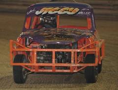 model car(0.0), race car(1.0), auto racing(1.0), automobile(1.0), automotive exterior(1.0), racing(1.0), vehicle(1.0), stock car racing(1.0), banger racing(1.0), dirt track racing(1.0), off road racing(1.0), motorsport(1.0), compact car(1.0), bumper(1.0), sports car(1.0),
