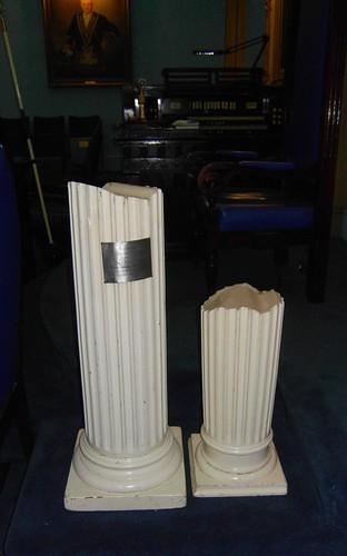 West Toronto Masonic Temple Broken Columns