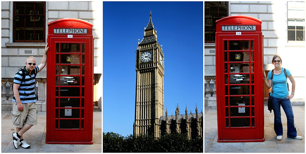 Big Ben & London Phone Booths