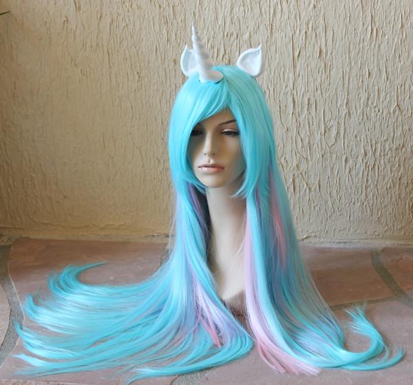 Princess Celestia costume wig | Flickr - Photo Sharing!