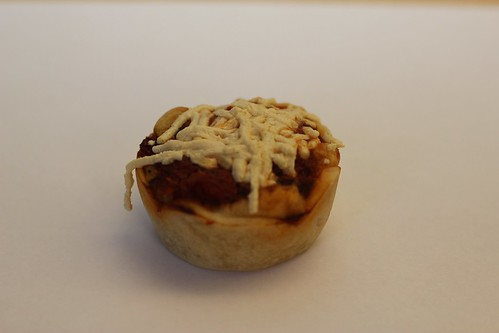 Vegan Pizza Cupcake - including Vegan Sausage