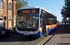 YJ10EZG Centrebus Optare Tempo X1130 774 by Sharksmith