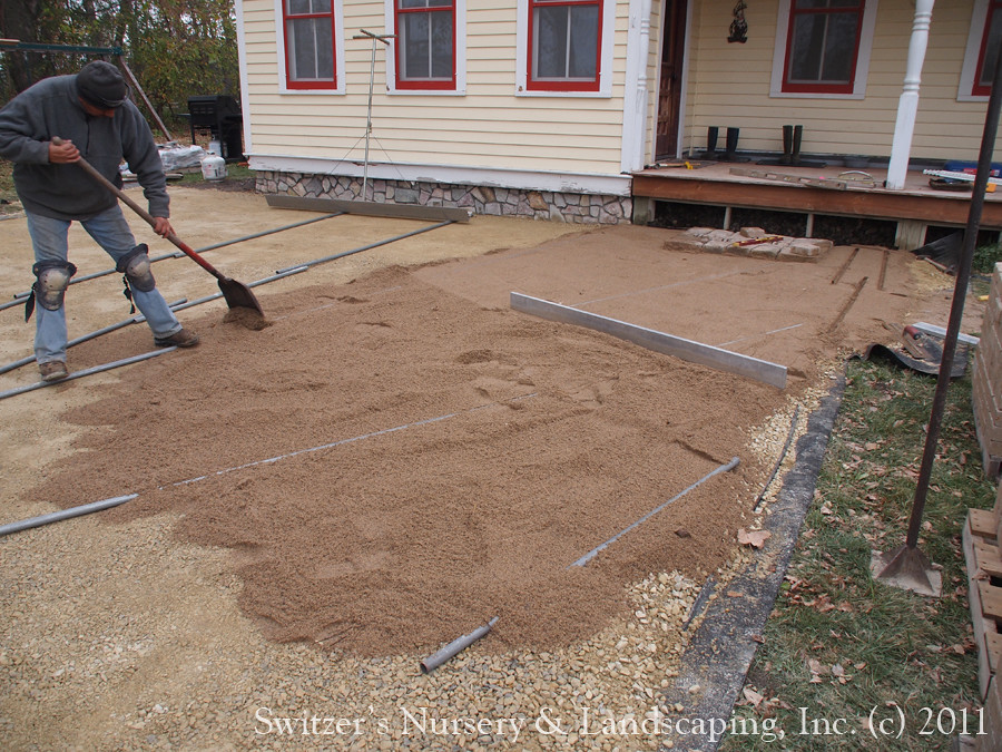 Superb Extending The Summer Kitchen With Outdoor Living Space... During The Paver Patio  Installation