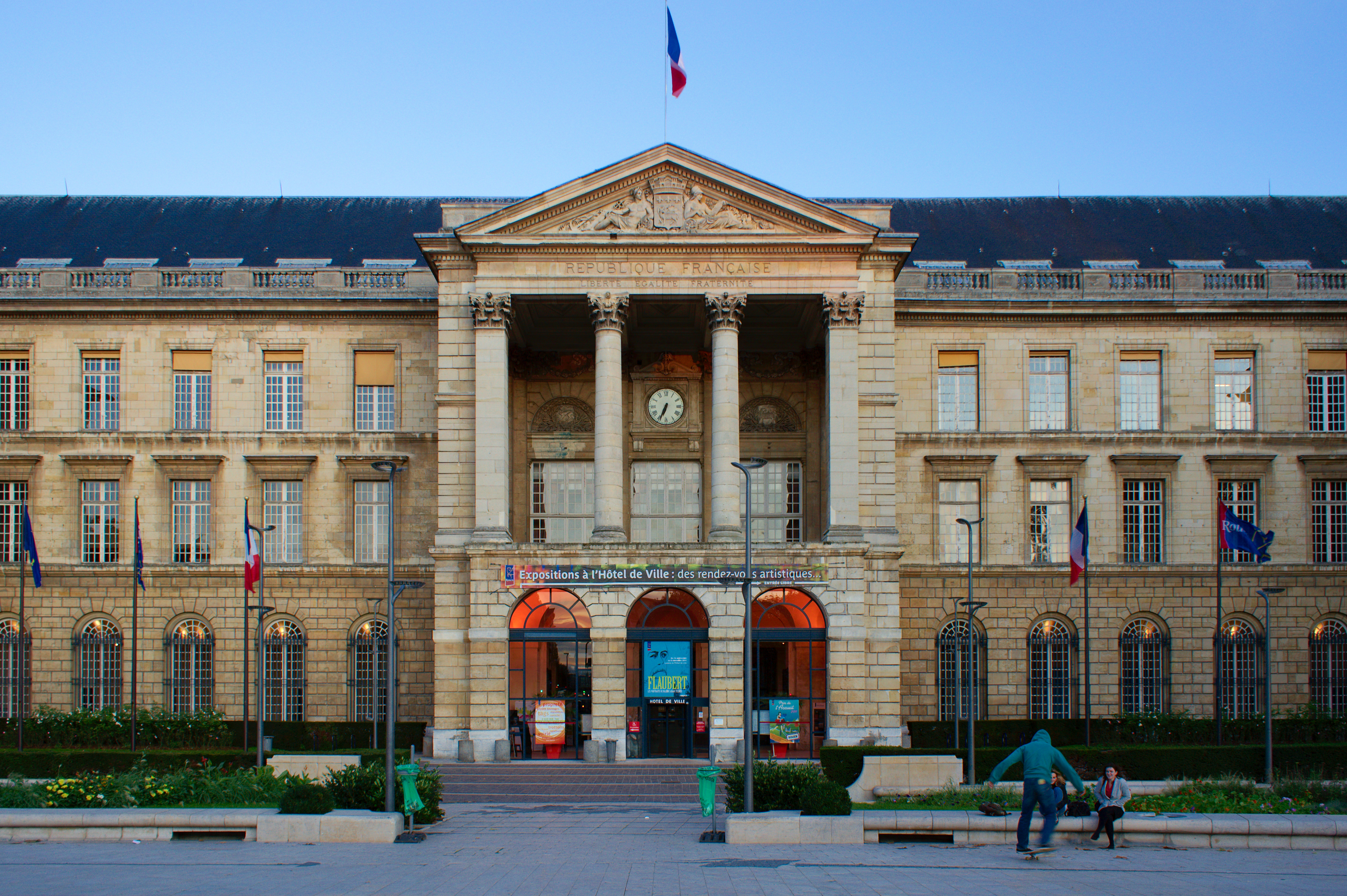 Hotel De Ville Rouen