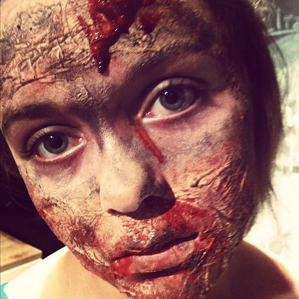 Kiddou0026#39;s Zombie Makeup #zombie #Halloween | Flickr - Photo Sharing!