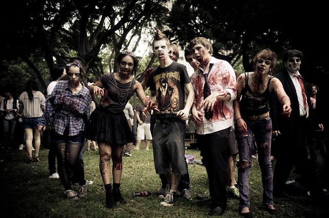 Sydney Zombie March