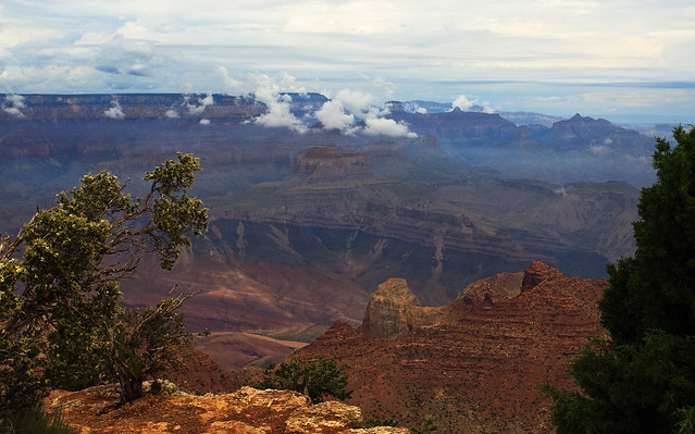 grand canyon approaching weather flickr photo sharing. Black Bedroom Furniture Sets. Home Design Ideas