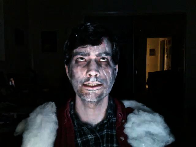Me As Frozen Jack Nicholson From The Shining My Hallowee Flickr