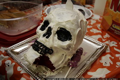 awesome skull cake    MG 7096