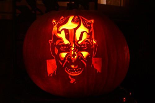 Star Wars Darth Maul/Savage Opress Pumpkin