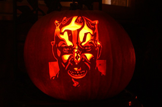 Star Wars Darth Maul/Savage Opress Pumpkin