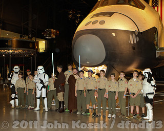 Boy Scouts and Star Wars