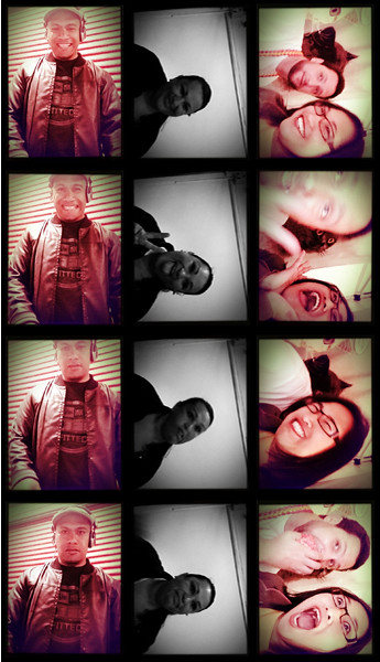 Photos taken with Incredibooth