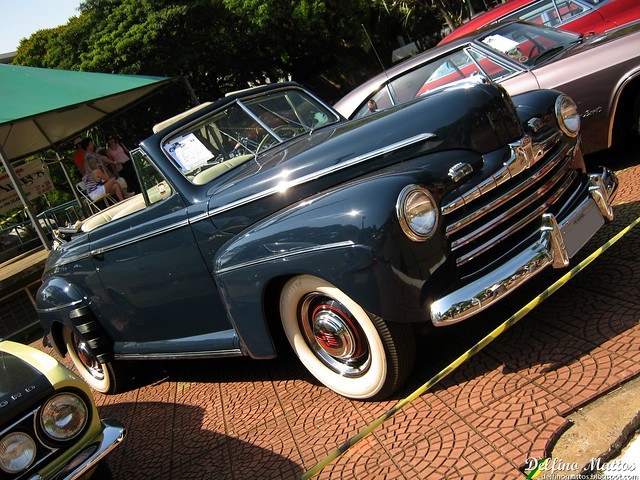 Ford Super Deluxe 8 Convertible